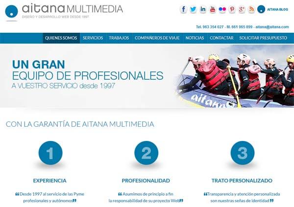 Página Web corporativa, la imagen de la empresa