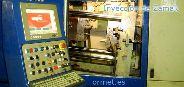 Ormet | Inyección de Zamak