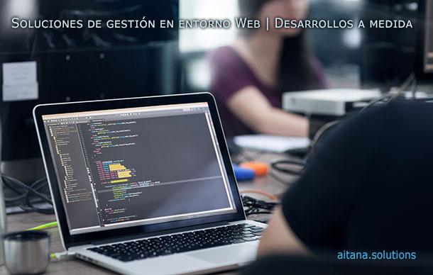 Desarrollo de aplicaciones on line a medida | aitana.solutions