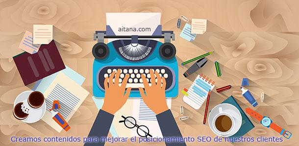 Creación de contenidos | Aitana Multimedia