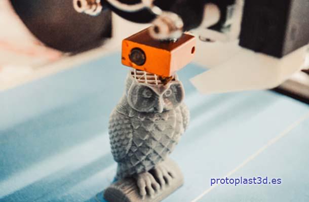 Filamentos 3D para una impresión 3D
