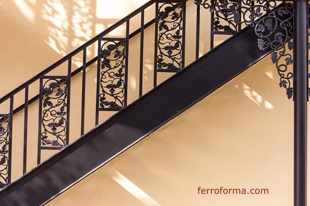 Barandillas en hierro forjado | Ferroforma