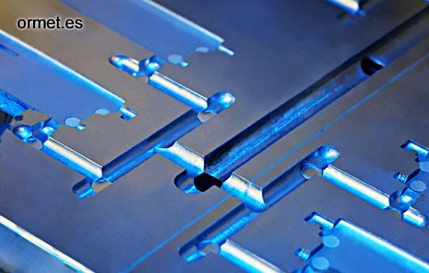 Ormet fabricación de piezas por inyección de aluminio, plástico y zamak