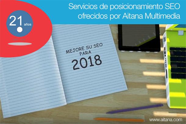 Aitana Multimedia - Posicionamiento SEO