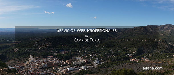 Aitana Multimedia - Servicios Web en Camp de Turia - Valencia