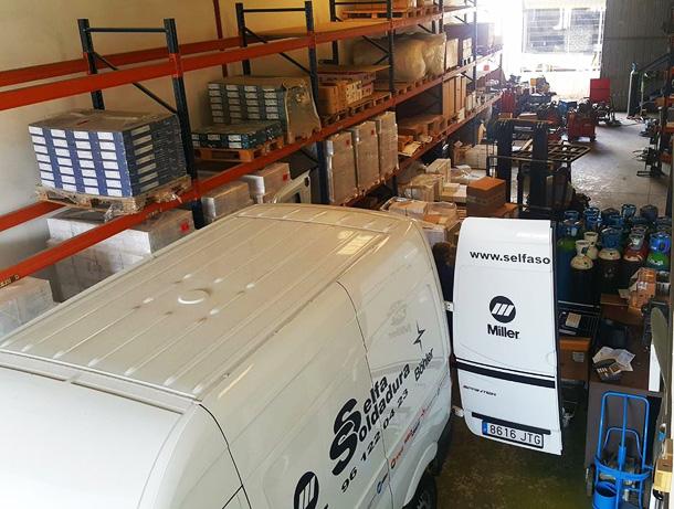 Selfa Soldadura distribuidor de maquinaria y suministros para la soldadura