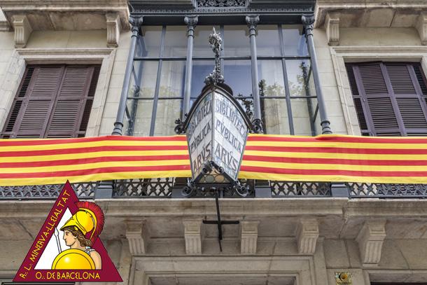 Masoneria en Barcelona, visita la biblioteca Arús.