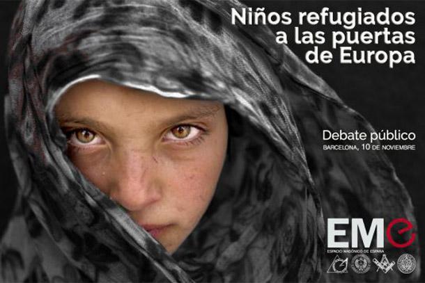 Minerva Lleialtat en el debate sobre los niños refugiados organizado por el EME